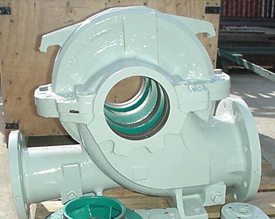 Dual-Coated Pump
